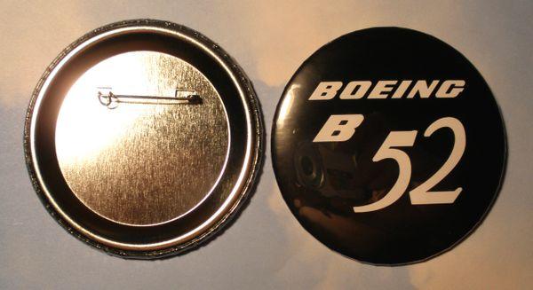 Boeing B-52 Stratofortress Control Yoke Hub Pin Back Button BTN-0111