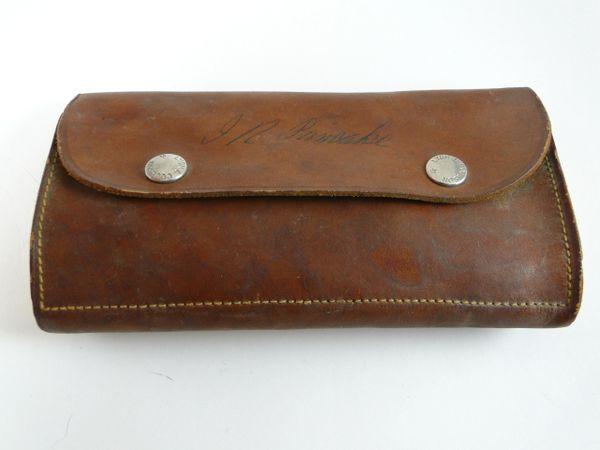 Fly Fishing Wallet and Vintage Flies OLD! Lyon & Coulson Buffalo NY