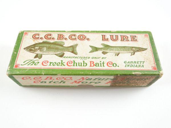 Creek Chub 1501 Injured Minnow Perch Box