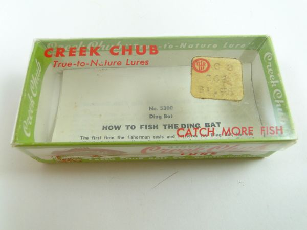 Creek Chub 5302 Box & Paperwork