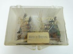 Norm Thompson Box with Vintage Flies