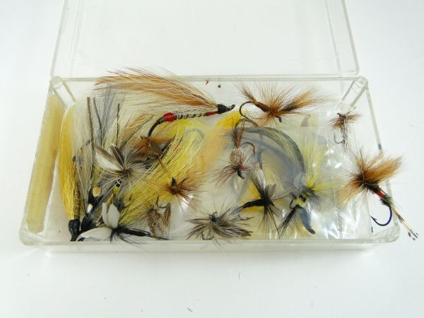 Box of NEW OLD England Vintage Fly Fishing Lures