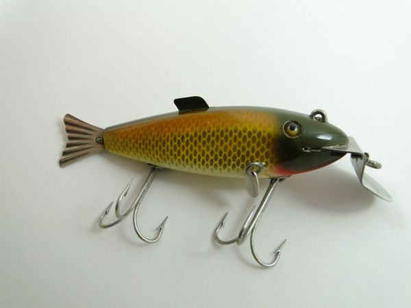 SOLD!!! Creek Chub 2104 Fintail Shiner Golden Shiner RARE & UNUSED!!!