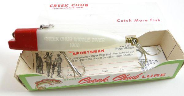Creek Chub 1802 Wiggle Diver New in Box