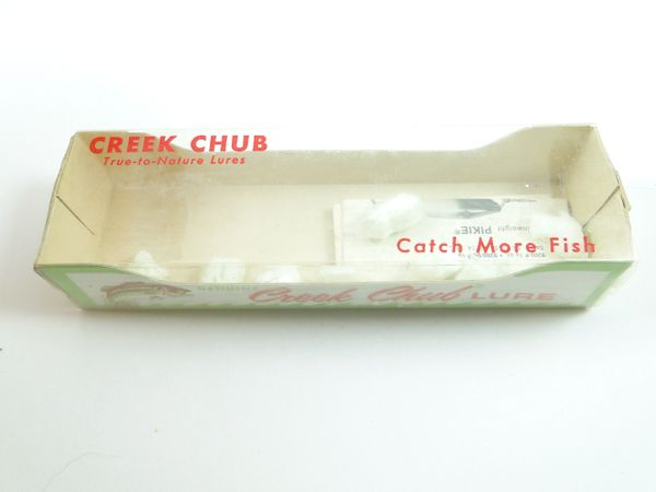 Creek Chub 918 Silver Flash BABY PIKIE with Catalog Insert