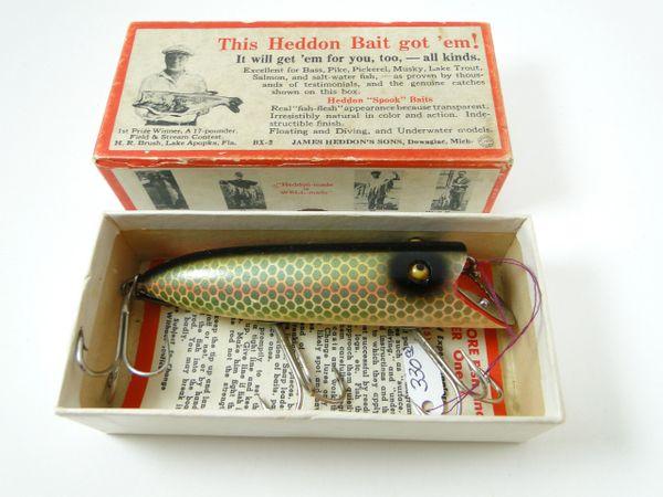 Heddon Basser 8509 D Shiner Scale NEW IN BOX L Rig