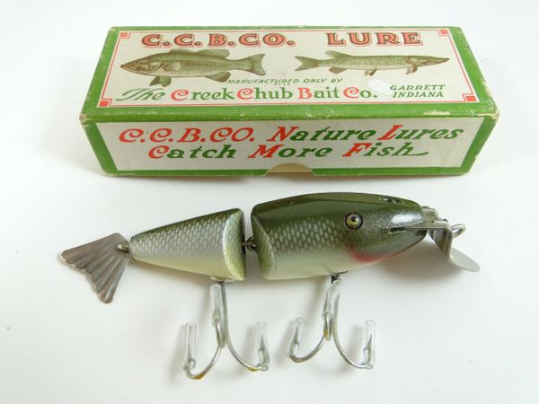 Creek Chub 2403 Wigglefish in Silver Shiner New in Correct Box
