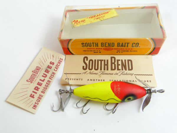 South Bend Nip I Diddee G910 SFG Fishing Lure VG+ in Correct Box with Papers