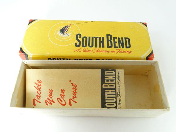 South Bend NICE Empty Box & Catalog BeBop? 903 WS