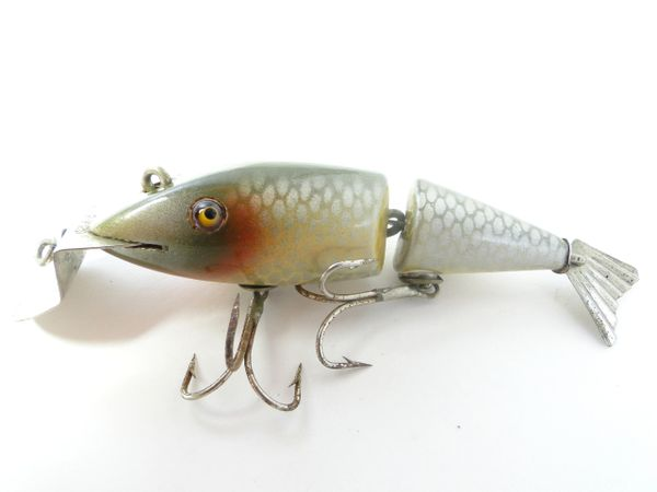 Creek Chub 2403 Wigglefish in Silver Shiner EARLY ONE!