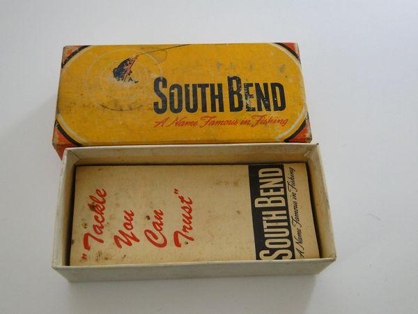 South Bend Dive Oreno 954 YP Yellow Perch Box + Papers