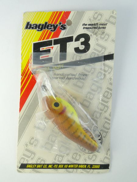 Bagleys ET3 Brown Craw Pattern NEW IN PACKAGE