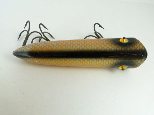 Heddon Lucky 13 MODEL 2500 PG Fishing Lure in Golden Shiner