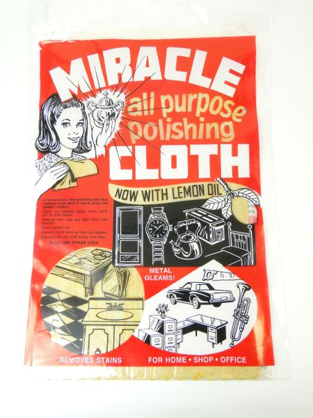 Miracle Cloth Polishing Cleaning Fabric Lemon Oil
