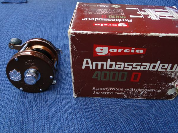 ABU Ambassadeur 4000D Copper NEW? in Box 1975