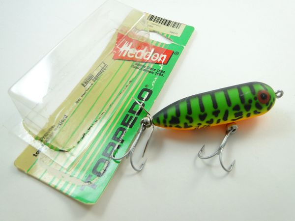 Heddon Baby Torpedo Firetiger New with Package