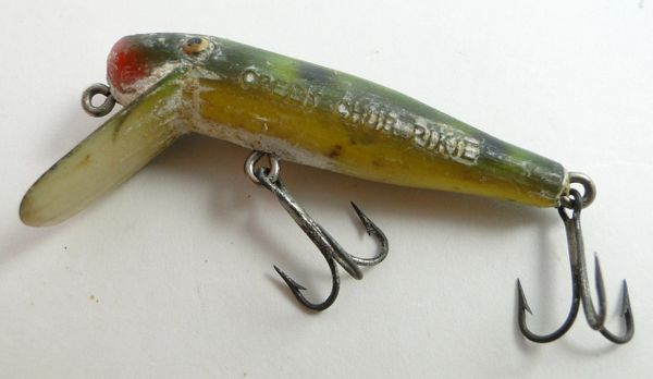 Creek Chub Frog Ultralight Pikie Uncleaned & As Found