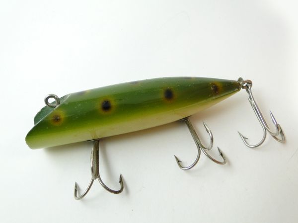 South Bend 973 Early Bass Oreno FROG SPOT EX+