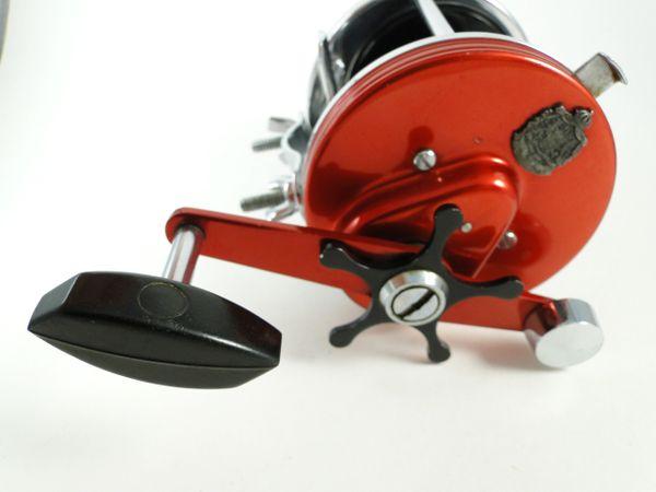 ABU Ambassadeur 8000 Automatic 2 Speed Vintage Fishing Reel Very Nice!