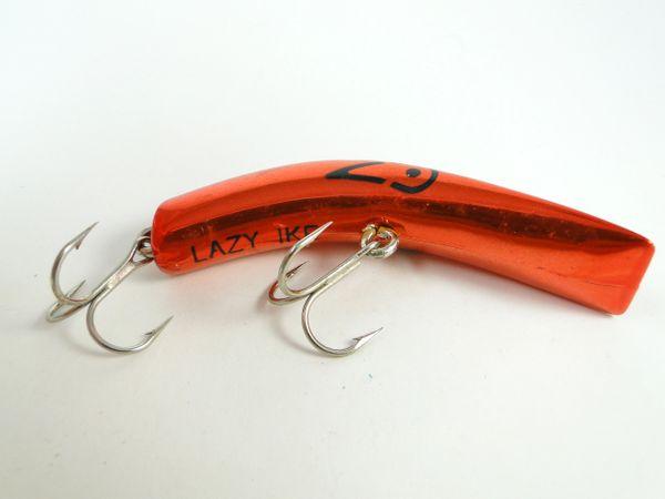 Lazy Ike Metallic Red Fishing Lure EX