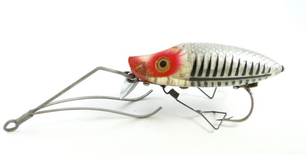 Heddon No Snag Silver Shore Minnow N9119 XRS 1941 Style 2 Weed Guard