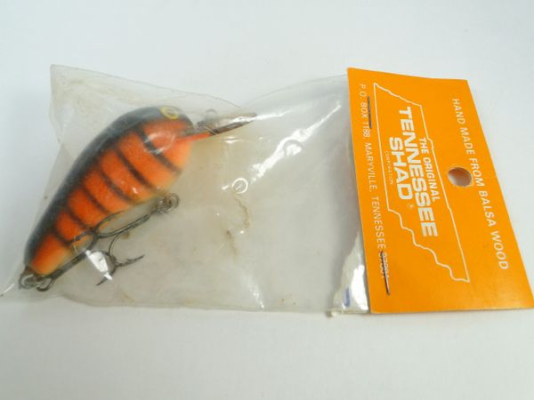 Tennessee Shad Early Wood Fishing Lure New in Package