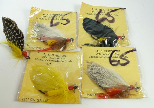 A.F. Friedhoff Fishing Flies Weighted Salmon? Steelhead?