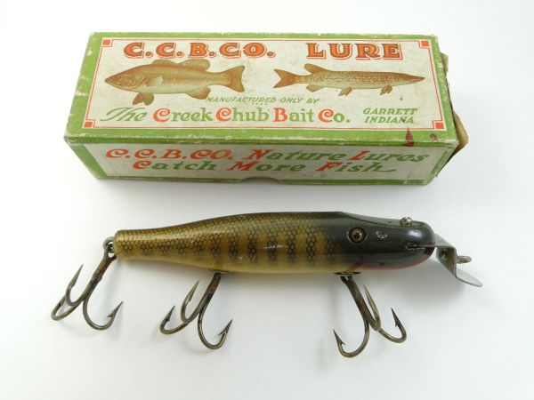 Creek Chub 700 Pikie Minnow EX In Label Box