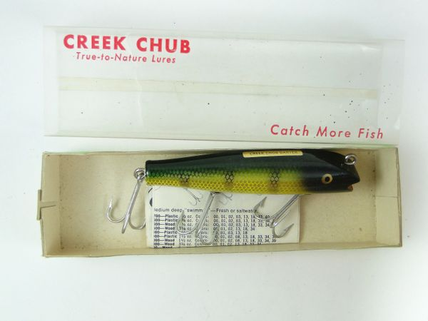 Creek Chub Darter 2001 Perch New in Box with Papers