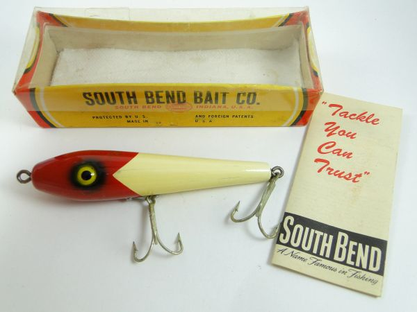 South Bend Be Bop 903 RW Fishing Lure EX in Box & Papers