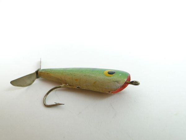 Shur Luk Plopper Wood Fly Rod Fishing Lure Garrett Indiana Lure