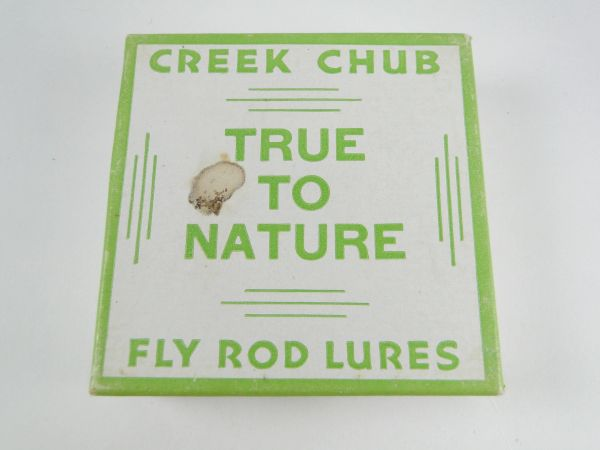 Creek Chub True To Nature Fly Rod Box