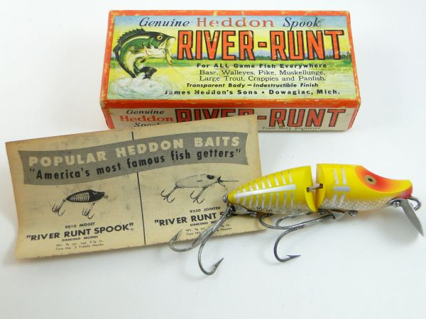 Heddon 9330 XRY Jointed River Runt Spook Sinker Fishing Lure NEW IN BOX