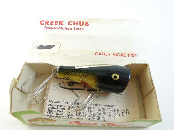 Creek Chub 5901 Perch Midget Plunker NEW UNUSED IN BOX!