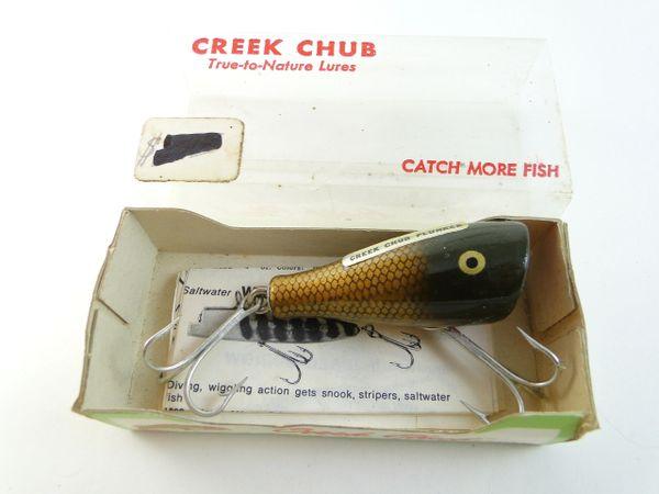 Creek Chub 5900 Pikie Scale Midget Plunker NEW UNUSED IN BOX!