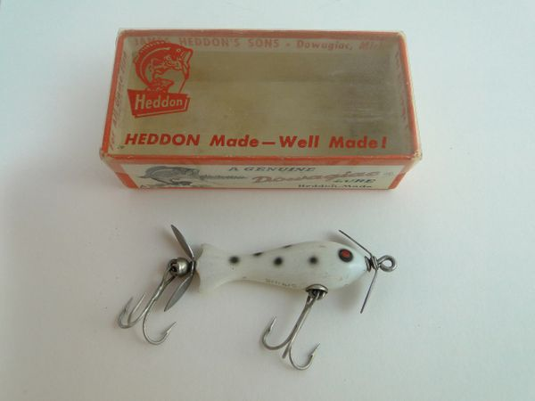 Heddon 310 WBS Tiny Spook EX+ in Box