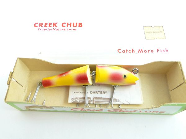 Creek Chub Jointed Darter 4938 PEARL NEW in Box!