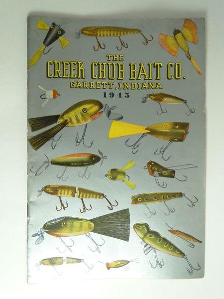 Creek Chub Bait Company 1945 Sales Trade Catalog Vintage