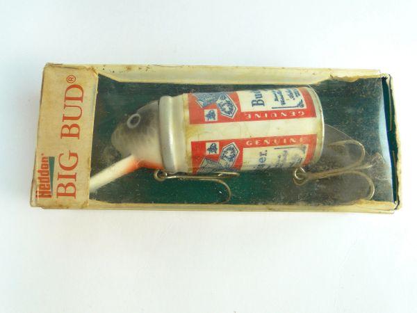 Heddon Big Bud Budweiser Vintage Novelty Fishing Lure