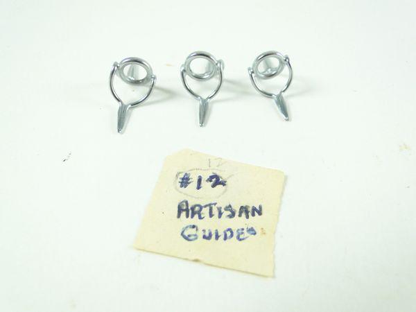 3 Herter's #12 Artisan Rod Guides Vintage