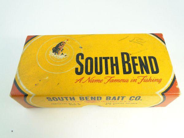 South Bend Fish Oreno 953 RH Early Box Glass Eye Model Fishing Lure