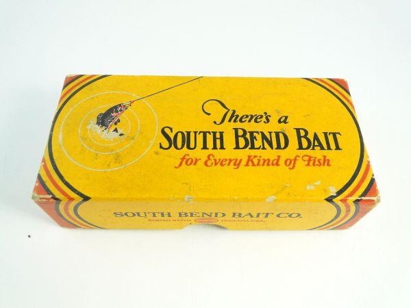 South Bend 901 RH Underwater Minnow Box