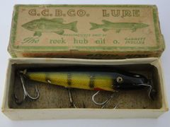 Creek Chub Pikie 701 in Perch with Correct Label End Box