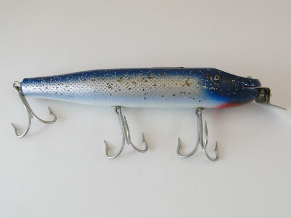 Creek Chub Giant Straight Pikie Minnow 6034 BLUE FLASH!