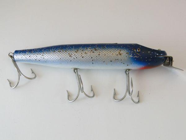 Creek Chub Giant Straight Pikie Minnow 6034 BLUE FLASH!