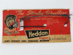 Heddon Stanley Weedless Hook Carlisle 4/0 NEW ON CARD