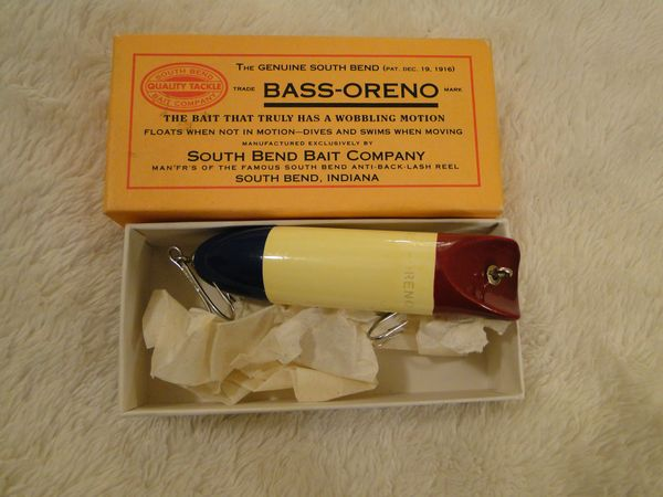 South Bend Collector's B.A.S.S. Series Bass Oreno Fishing Lure NEW!