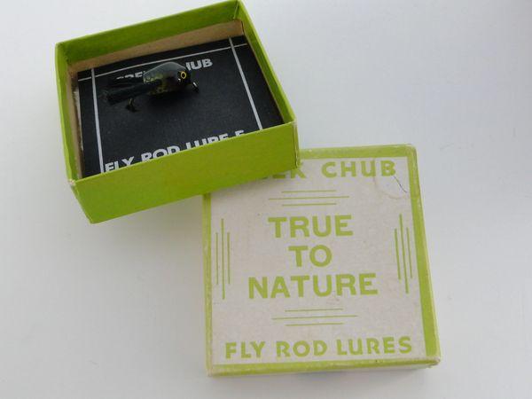 Creek Chub Fly Rod Dingbat model F1301 Perch Color EXIB