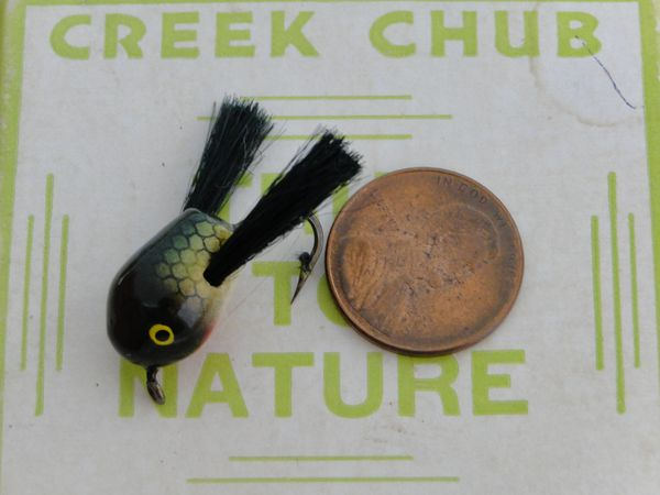 Creek Chub Fly Rod Dingbat model F1301 Perch Color EXIB