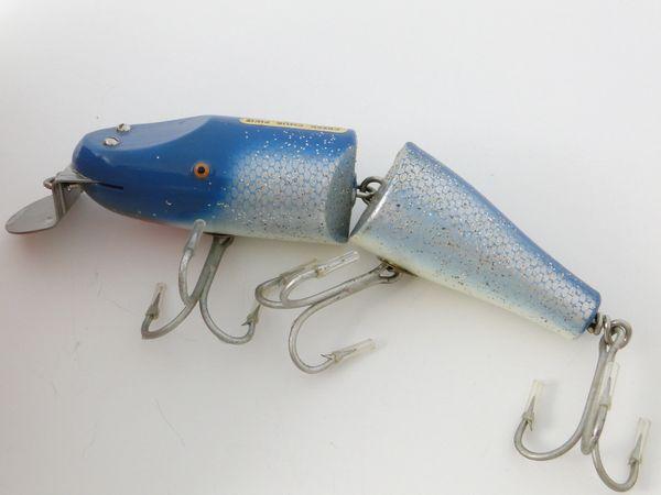 Creek Chub Jointed Striper Pikie in Blue Flash Model 6834